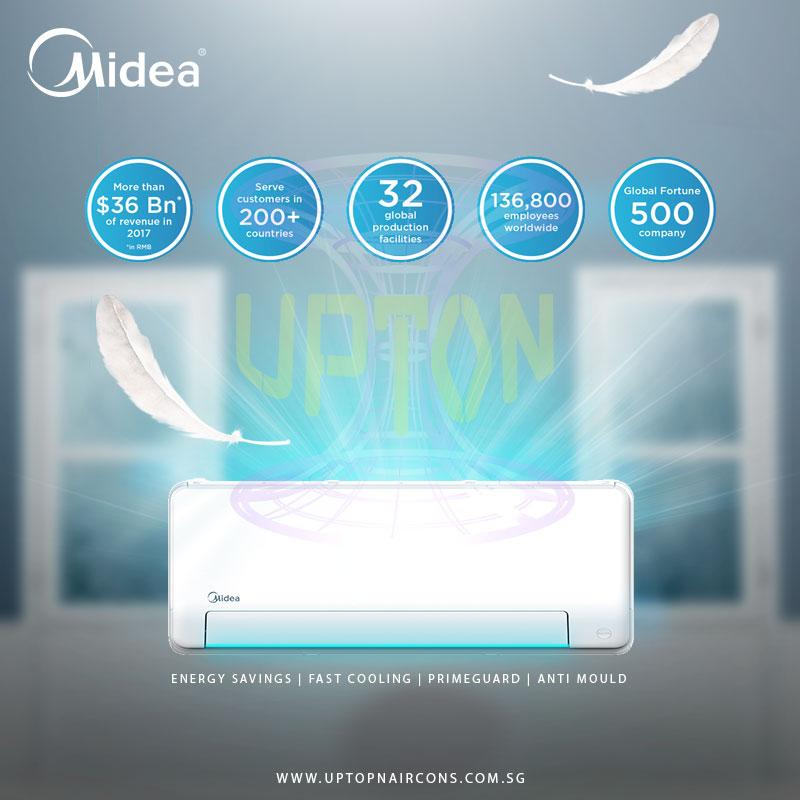Midea 4 Ticks (2 system)